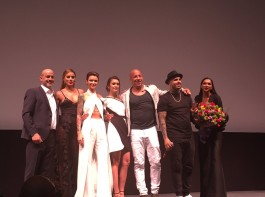 Celebs like Deepika Padukone, DJ Caruso, Vin Diesel, Ruby Rose, Nina Dobrev, Nicky Jam and Ariadna Gutierrez at XXX: Return of Xander Cage premiere in Mexico.