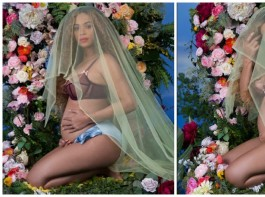 Singer Beyonce Knowles has posed naked to celebrate her pregnancy, five years after the birth of her daughter Blue Ivy. Knowles, who announced on Wednesday that she is expecting twins with husband Jay Z, took to her website to share few images from her racy photoshoot, reports mirror.co.uk.