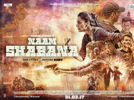 Here's a look of the 2nd Naam Shabana poster.