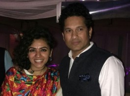 It was an evening that was full of glitz and glamour, it was a party thrown by the singing sensation and Indian Idol 9 judge, Sonu Nigam for his near and dear ones. Which included the participants of the very popular singing reality show Indian Idol 9.