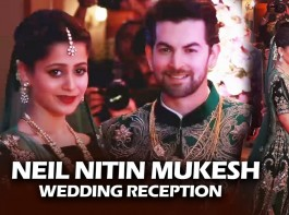 Bollywood celebs like Salman Khan, Amitabh Bachchan, Katrina Kaif, Rekha and others spotted at Neil Nitin Mukesh and Rukmini Sahay reception.