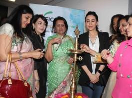 Bollywood actress Karisma Kapoor inaugurates FICCI Ladies Organization (FLO) Mumbai Magic Bazaar 2017 at Atria Mall in Mumbai on February 17, 2017.