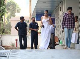 Bollywood actress Malaika Arora Khan spotted at Bandra in Mumabi.