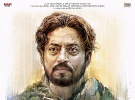 Actor Irrfan Khan on Thursday released on social media the first look of his Bangladeshi movie