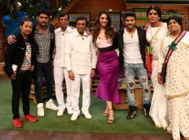 The Kapil Sharma Show with Abbas Mustan and Machine cast.
