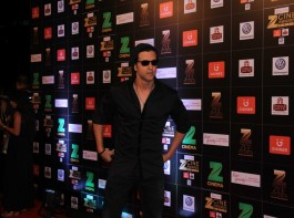 Bollywood actor Hrithik Roshan spotted during the Fair & Lovely Zee Cine Awards 2017 in Mumbai on March 11, 2017.