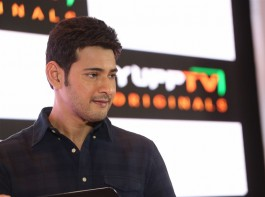 South Indian actor Mahesh Babu launches YuppTV Originals at Hyderabad. Celebs like Sumanth Ashwin, Yamini Bhaskar, Uday Reddy (Founder and CEO of YuppTV), Director BV Nandini Reddy, Madhura Sridhar Reddy and others attended the event.
