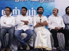 Tamil movie Kuttram 23 success meet event held in Chennai. Celebs like Arun Vijay, Arivazhagan, Inder Kumar, Heera, KM Bhaskaran, Bhuvan Srinivasan, Aravind Aakash, Prabhu Venkatachalam and others graced the event.