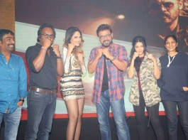 Telugu movie Guru trailer launch event held at Hyderabad. Celebs like Venkatesh, Ritika Singh, Mumtaz Sorcar, Sudha Kongara Prasad, S. Sashikanth and others graced the event.
