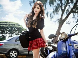 South Indian actress Angela Krislinzki's latest photoshoot.