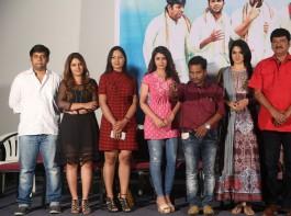 Telugu movie Oollo Pelliki Kukkala Hadavidi movie logo launch event held in Hyderabad. Actor Rajendra Prasad graced the event.