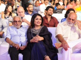 South Indian actress Ramya Krishnan spotted at Baahubali 2 pre-release event.