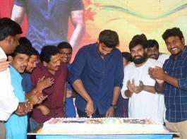 South Indian actor Varun Tej celebrates Ram Charan birthday in Hyderabad.