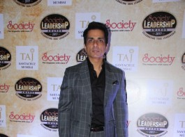 Bollywood actor Sonu Sood spotted during the Society Leadership Awards 2017 in Mumbai on March 26, 2017.