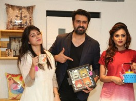 Bollywood actor Harman Baweja Launches VR franchise Store at Banjara Hills in Hyderabad on April 6, 2017.