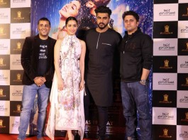 Bollywood actors Arjun Kapoor and Shraddha Kapoor at the trailer of his upcoming film