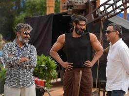 Baahubali: The Conclusion is an upcoming Telugu movie directed by SS Rajamouli and produced by Shobu Yarlagadda and Prasad Devineni. Starring Prabhas, Anushka Shetty, Rana Daggubati, Ramya Krishnan, Nassar and Sathyaraj in the lead role.