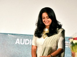 Tamil movie Magalir Mattum audio launch event held in Chennai. Celebs like Suriya, Jyothika, Oorvasi, Sivakumar, Saranya Ponvannan and others graced the event.