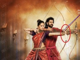 The new poster of director SS Rajamouli's Baahubali: The Conclusion (aka Baahubali 2 or Bahubali 2) featuring Prabhas and Anushka Shetty has gone viral on social media, but not many have noticed a minor mistake in it.