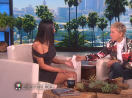 Reality TV star Kim Kardashian got emotional while talking about last years Paris robbery on