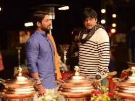 Stylish Star Allu Arjun & Harish Shankar's 'Duvvada Jagannadham' working stills.