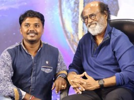 Bollywood and South Indian film actor Rajinikanth during a greet and meet with his fans on the 4th day after a gap of 8 years at Raghavendra Mandapam in Chennai on May 18, 2017.