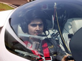 Actor Rohan Mehra, who was last seen in the latest season of Bigg Boss, seems to be enjoying his time off.  The actor was seen flying a power glider imported from Germany.
