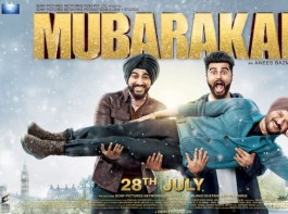 The first look of Anees Bazmee's upcoming Rom-Com Mubarakan is out The poster features, fun side of Anil Kapoor along with Arjun's dual characters. Anil Kapoor took to twitter saying,