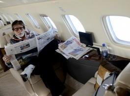 Megastar Amitabh Bachchan has landed in south European country Malta to join the shoot of Vijay Krishna Acharya's