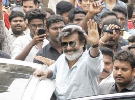 Superstar Rajinikanth has wrapped up shooting his portion in the Mumbai schedule of upcoming Tamil gangster drama