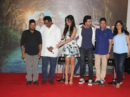Bollywood actors Katrina Kaif and Ranbir Kapoor during the second song launch of film Jagga Jasoos, 'Galti Se Mistake' in Mumbai.