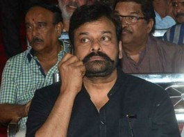 Megastar Chiranjeevi has been spotted sporting a twirled mustache and his fans believe this look is for his upcoming Telugu film