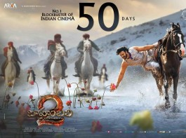 On its 50th day, The makers of Baahubali 2 have released some posters from the Prabhas's film.