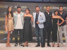 The trailer was loved by everyone present and has created an eagerness amongst the audiences for it. Producers of the series were present along with the cast; all of them were in full spirit and were addressing the media during Q and A.