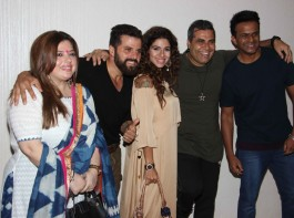Launch of short film Drinks, Drama, Dhoka event held in Mumbai. Celebs like Television actor Vaishnavi Dhanraj,Television actor Bakhtiyaar Irani along with his wife and Bollywood actor Tanaaz Currim and Vahishta Bharucha spotted during the event.