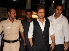 Actor Shah Rukh Khan at Salman's Tubelight special screening in Mumbai.