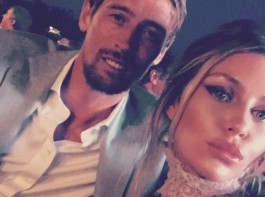 Model Abbey Clancy is pregnant with her third child with Peter Crouch.