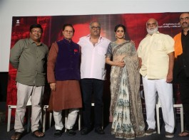 Bollywood movie Mom Trailer Launch event held at Hyderabad.