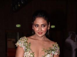 Kannada Actress Parul Yadav spotted at SIIMA Awards 2017.