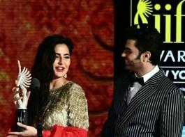 Bollywood actress Katrina Kaif looks sensational at IIFA 2017.