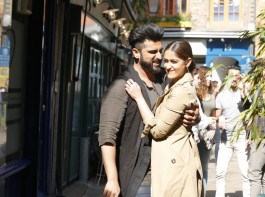 The song is an introduction song to Karan and Charan in the film, showing two worlds - Karan lives in Punjab and Charan who lives in London. Jatt Jaguar features Arjun Kapoor in his dual role along with lead actress Ileana D'cruz.