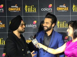 Actor-Producer, Jackky Bhagnani who was at IIFA 2017 to reveal the first look of his upcoming short-film 'Carbon', along with Nawazuddin Siddiqui was seen having a lot of fun at the IIFA 2017 Green Carpet.