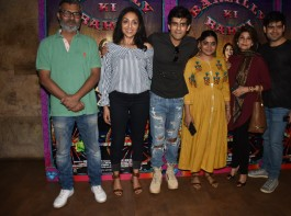 The trailer of the highly anticipated film Bareilly Ki Barfi has been unveiled recently in front of the cast and crew of the film at a special event held in the suburbs of Mumbai.