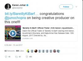 Karan Johar says,