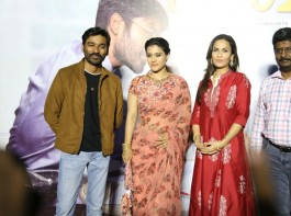 Telugu movie VIP 2 press meet event held in Hyderabad. Celebs like Dhanush, Kajol, Soundarya Rajinikanth and others graced the event.