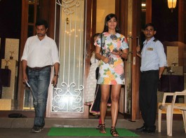 Bollywood actress Pooja Hegde snapped outside a jewellery shop.