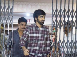 Leading Telugu actor Ravi Teja on Friday appeared before Special Investigation Team (SIT) probing the Hyderabad drug racket. The actor reached Abkari Bhavan, the office of Prohibition and Excise Department of Telangana, around 10 a.m. A four-member team of SIT officials began questioning the actor with regard to the racket busted in July. Like other actors grilled over last two weeks, Ravi would be questioned about his alleged links with the accused arrested in the case. Popularly known as 'mass Maharaja' in film circles, Ravi will also be asked if he is addicted to drugs.