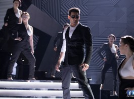 Mahesh Babu's Boom Boom song pictures from SPYder movie.