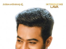 The posters were to introduce Lava Kumar, one of the characters played by Jr NTR. The two posters give us a glimpse of Jr NTR as the charming Lava Kumar, rumoured to be playing a bank employee. In the film, he plays a triple role. For one of his roles, Jr NTR will be seen wearing prosthetic. His look is being handled by Hollywood make-up artist Vance Hartwell, popular for his work in films such as