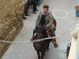 Bollywood superstar Salman Khan has started taking horse riding training for his upcoming film